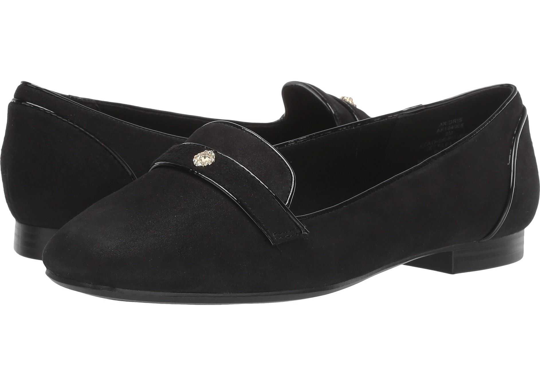Anne Klein Idris Black Leather