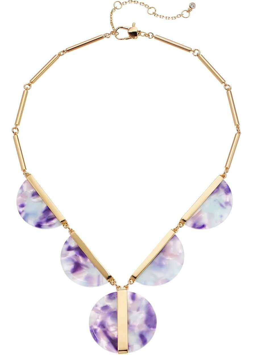 Kate Spade New York On The Dot Statement Necklace Blue Multi