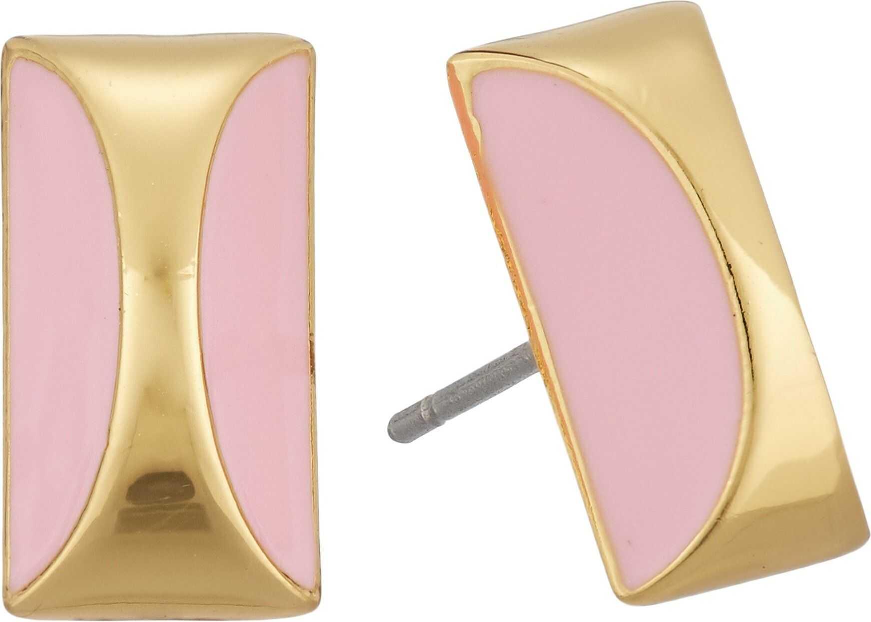 Kate Spade New York Sliced Scallops Studs Earrings Pink