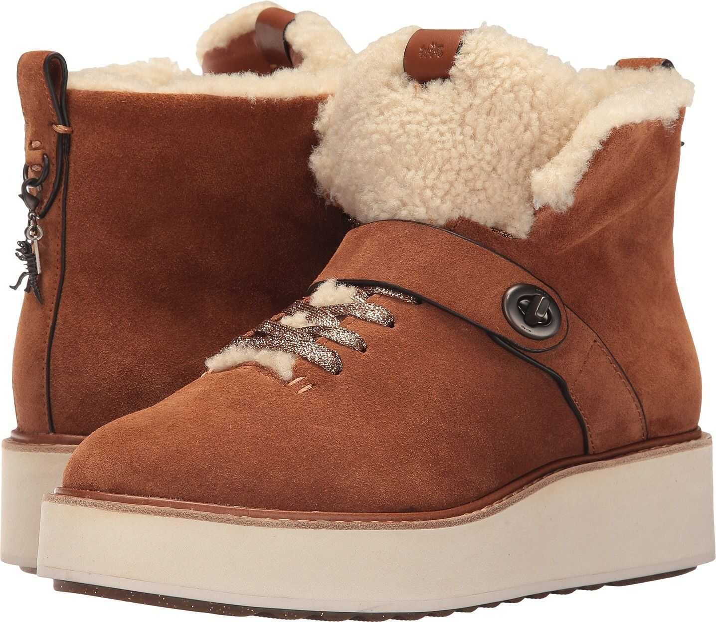 COACH Urban Hiker Saddle/Natural Suede