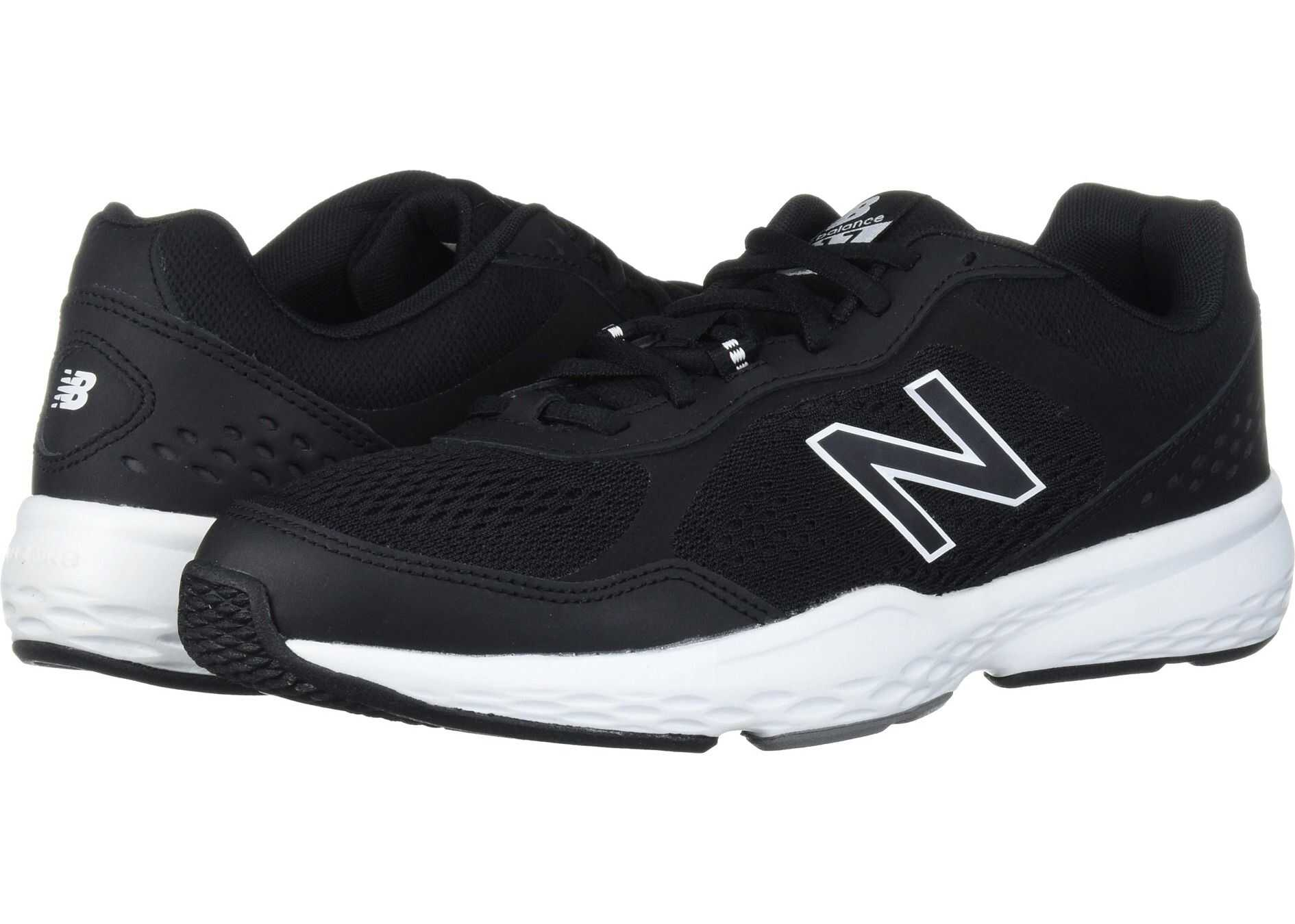 New Balance 517v2 Black/White