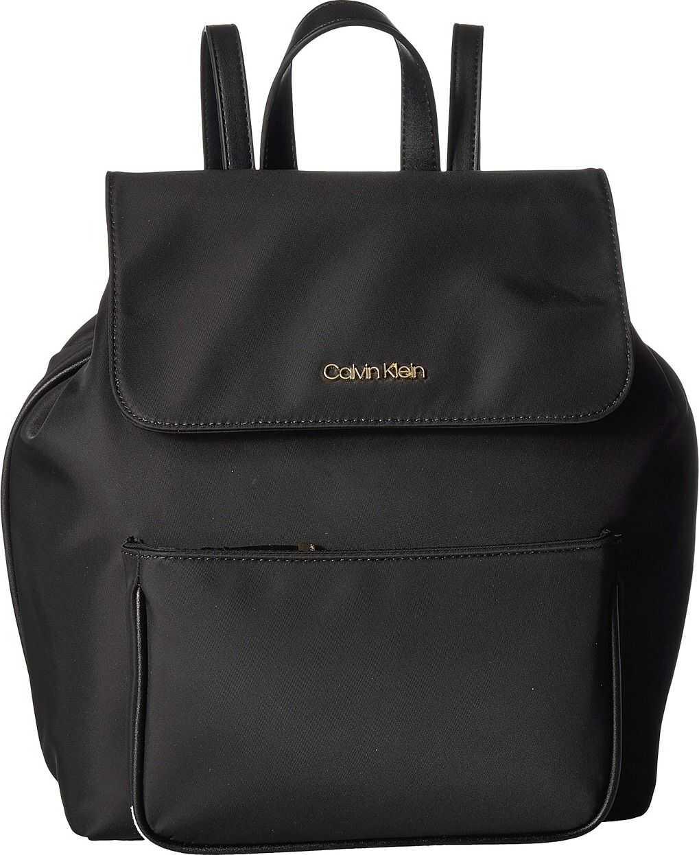 Calvin Klein Abby Nylon Backpack Black/Black