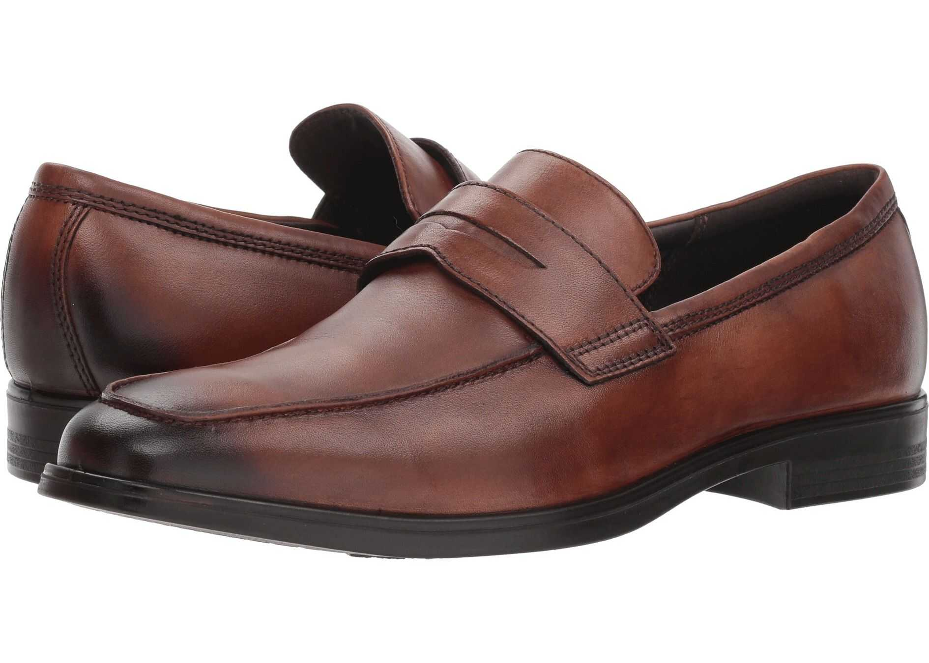 ECCO Melbourne Loafer Amber