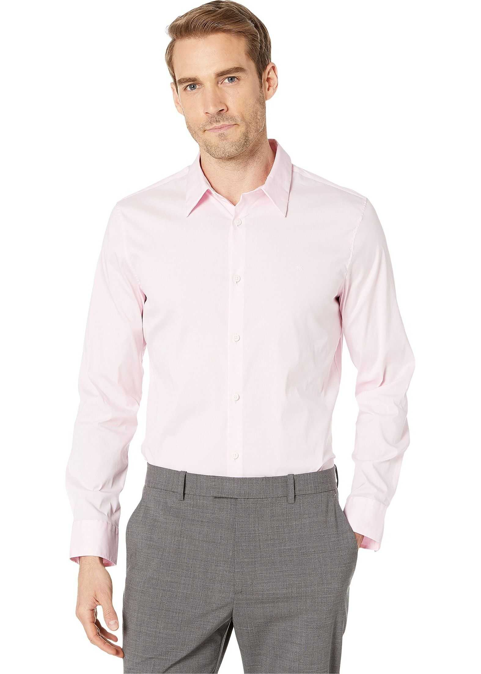 Calvin Klein The Stretch Cotton Shirt Plush Pink