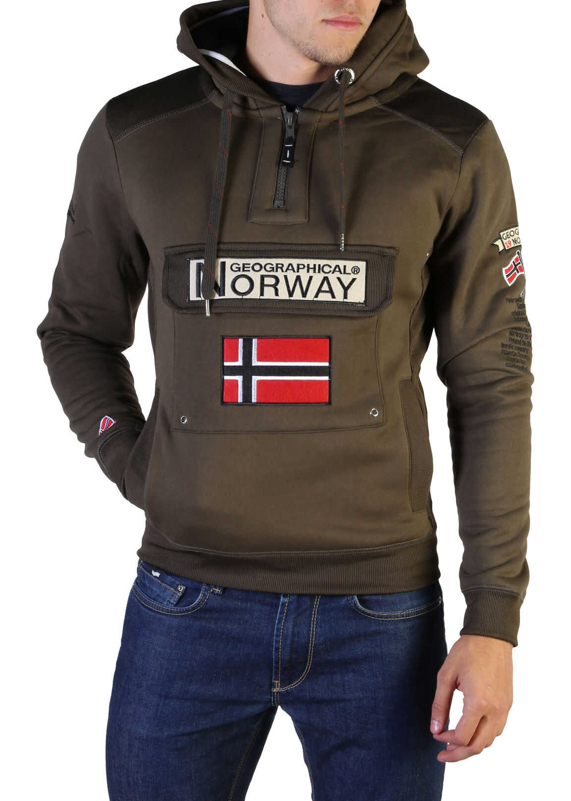 Geographical Norway Gymclass007_Man* GREEN