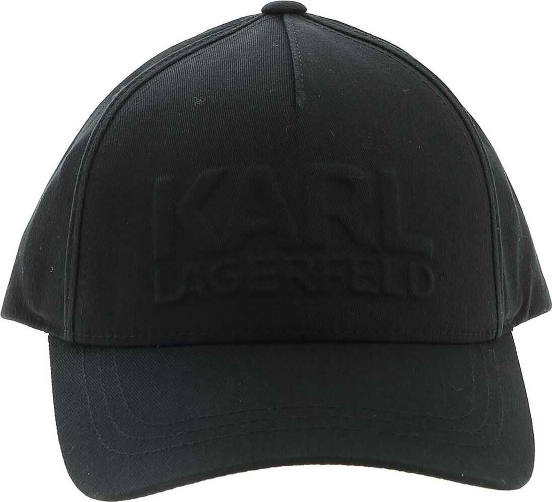 Hat With 3D Logo In Black thumbnail
