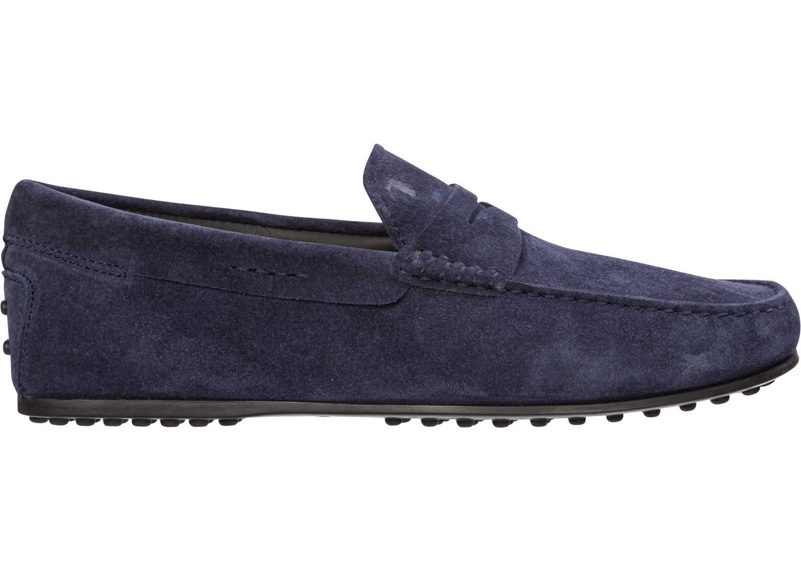 TOD'S Moccasins City Blue