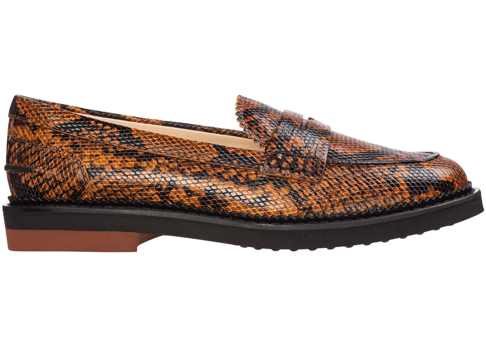 TOD'S Loafers Moccasins Brown