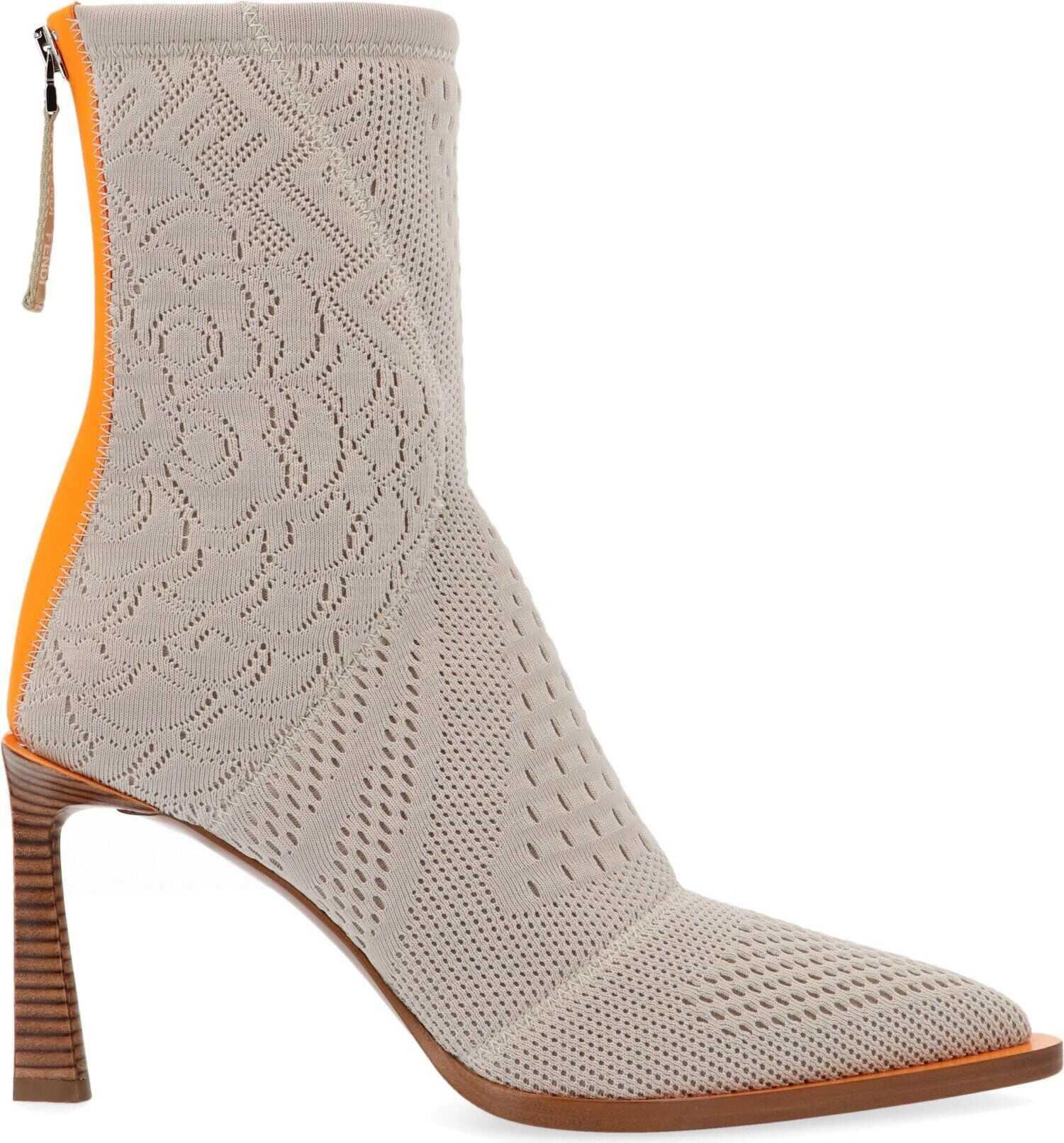 Fendi Polyester Ankle Boots thumbnail