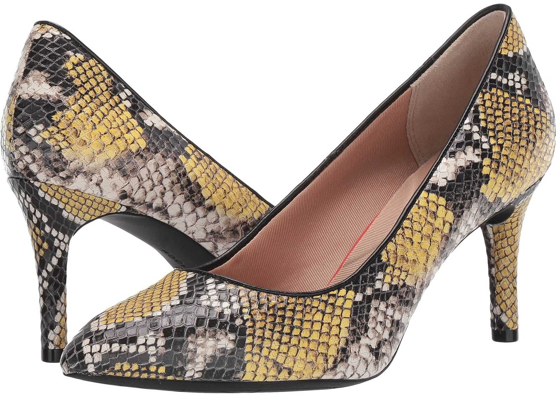 Rockport TM75MMPTH Plain Pump Mustard Snake