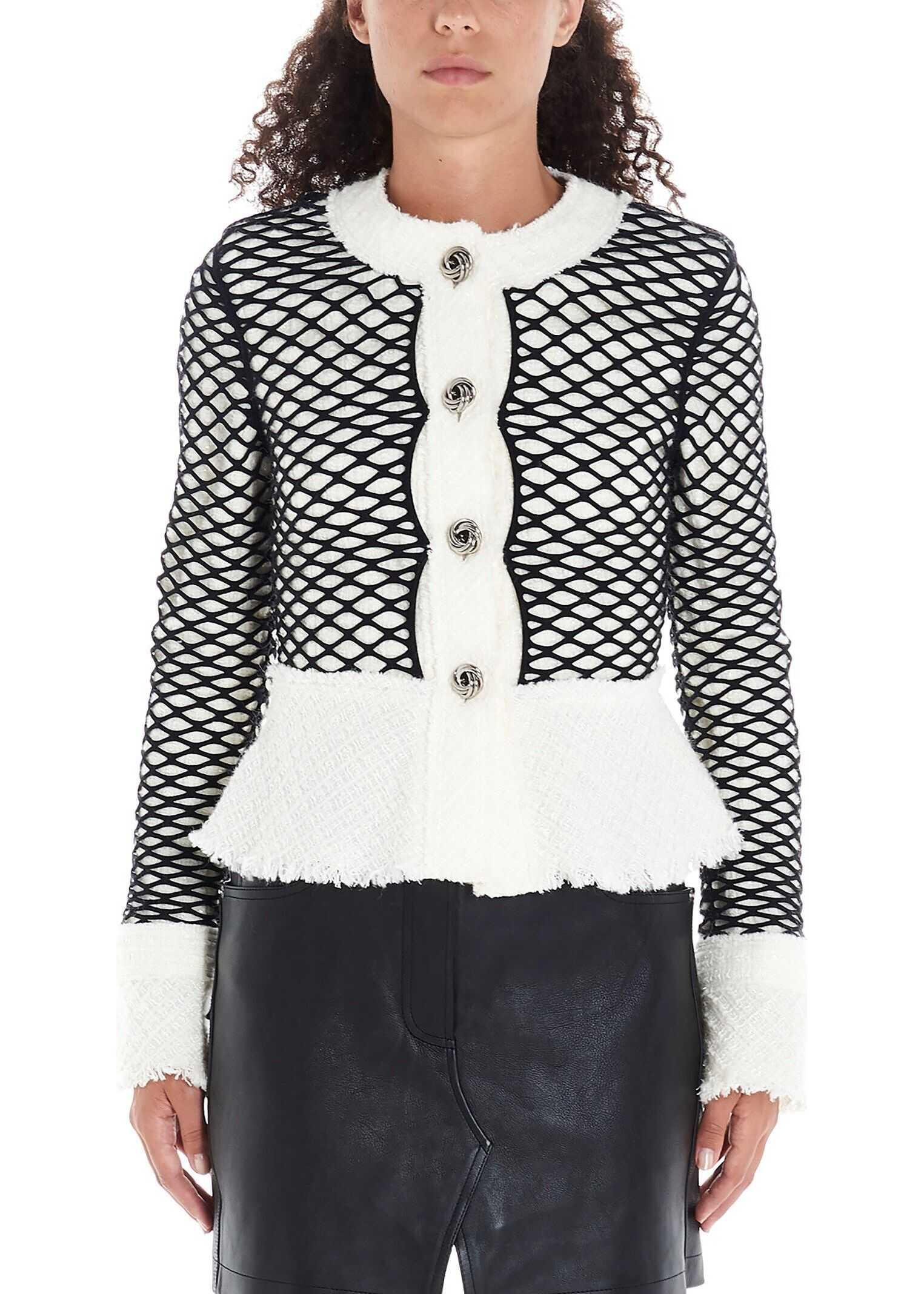 Alexander Wang Wool Jacket WHITE