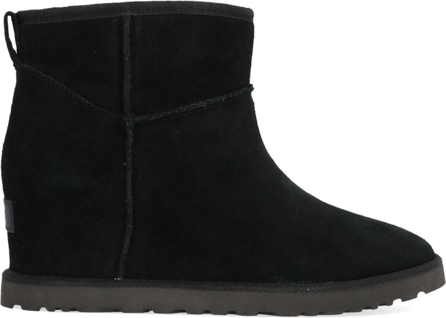 UGG Suede Ankle Boots BLACK