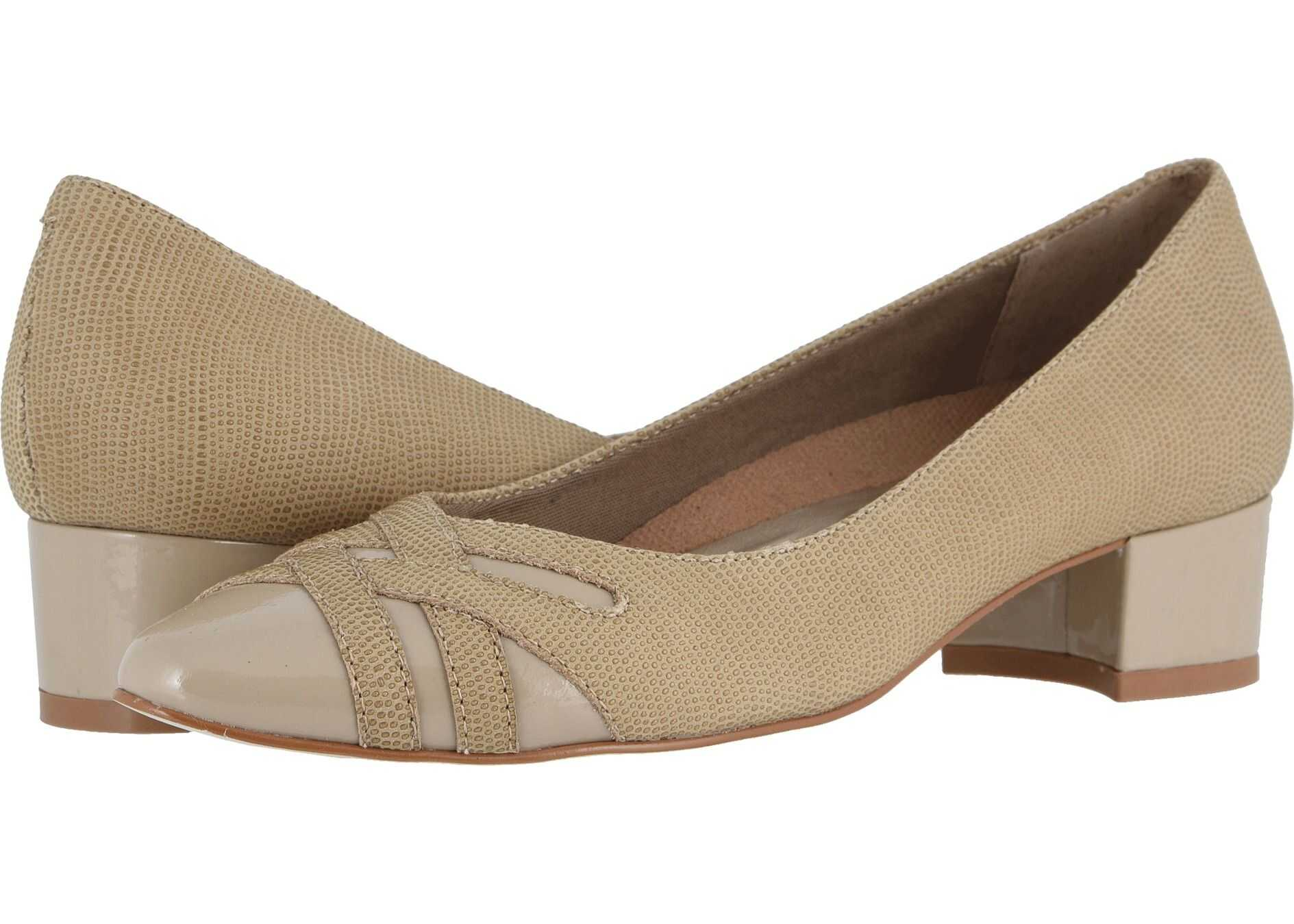 Walking Cradles Haven Light Taupe Bubble Leather/Patent