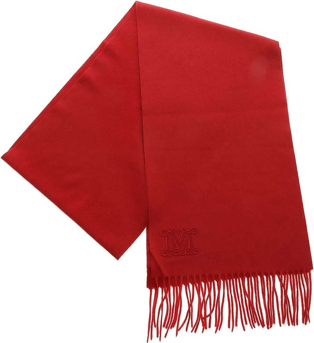 Max Mara Wsdalia Scarf In Red Red
