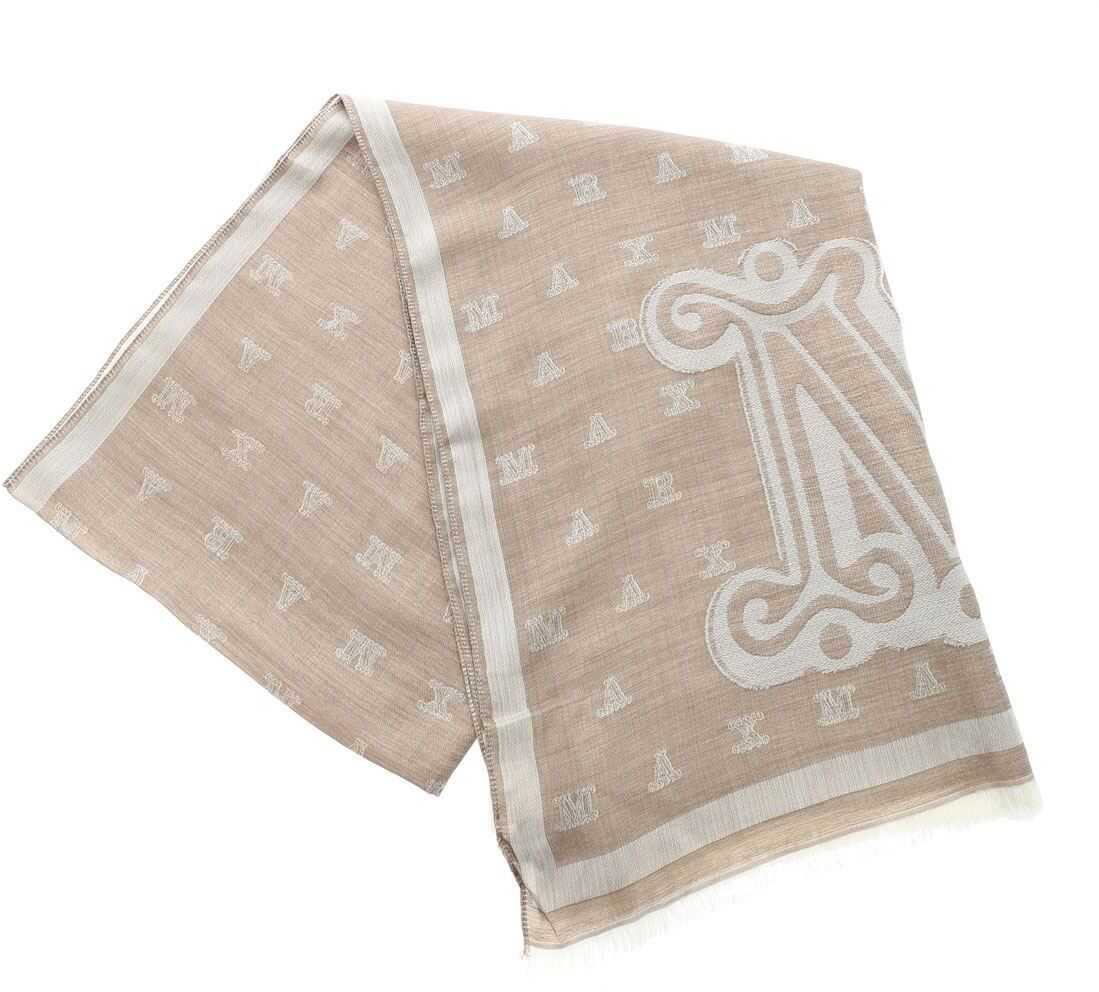 Liuto Scarf In Beige Color thumbnail