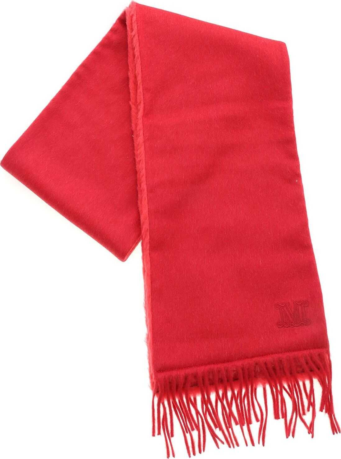 Allegra Scarf In Red thumbnail