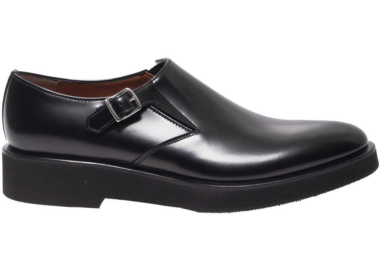 Monk Strap Shoes In Black thumbnail