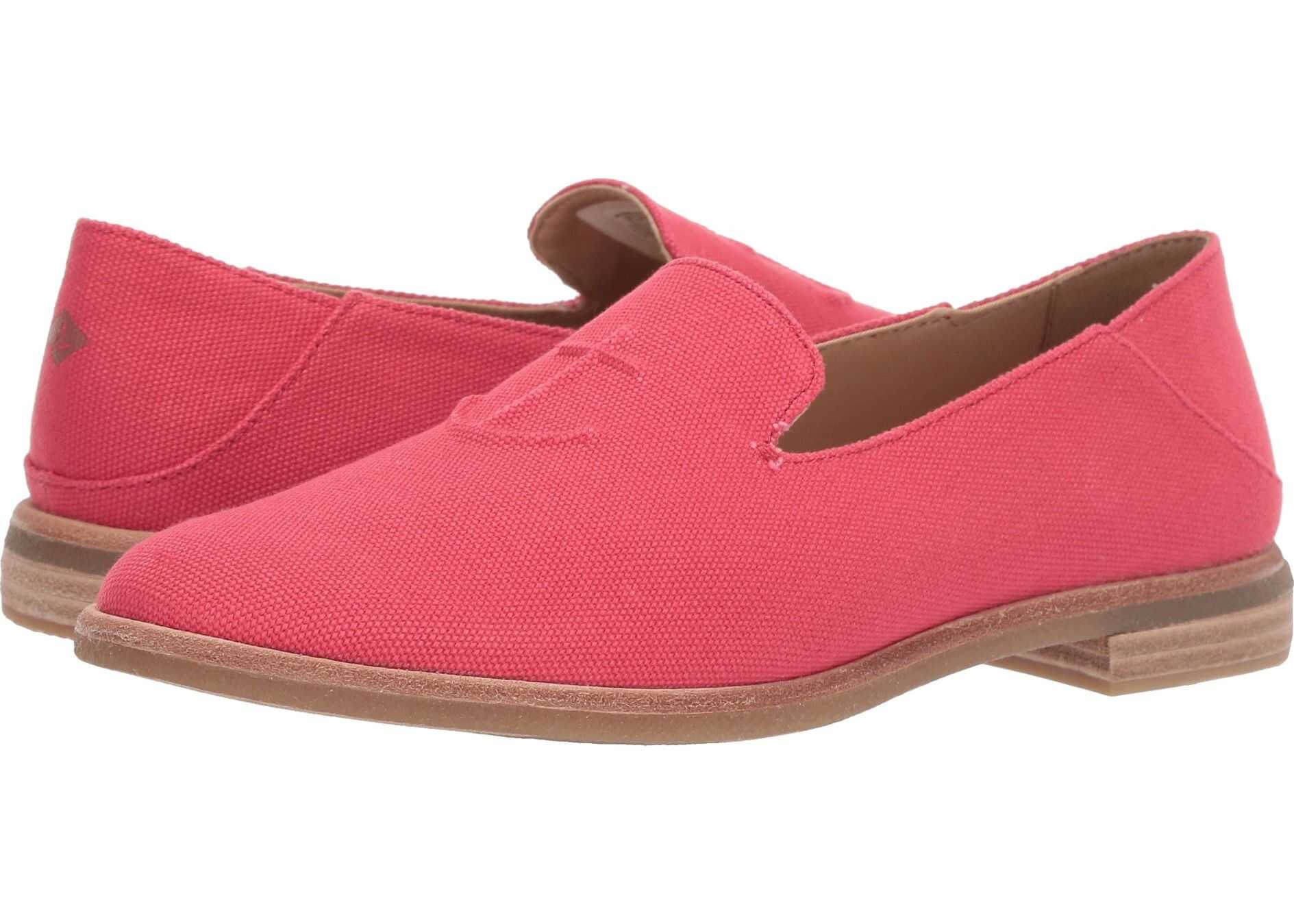 Sperry Top-Sider Seaport Levy Canvas Red