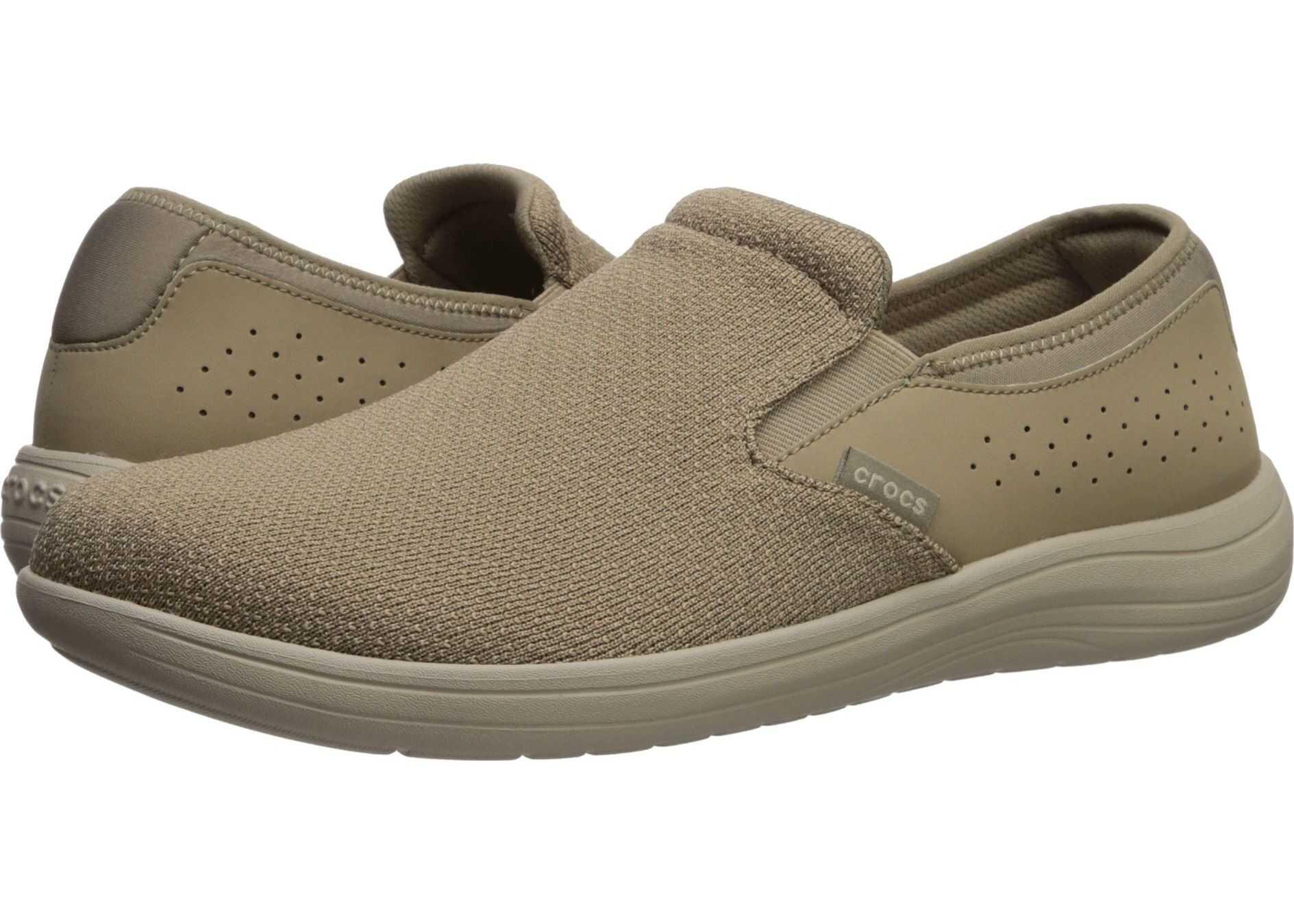 Crocs Reviva Slip-On Khaki/Cobblestone