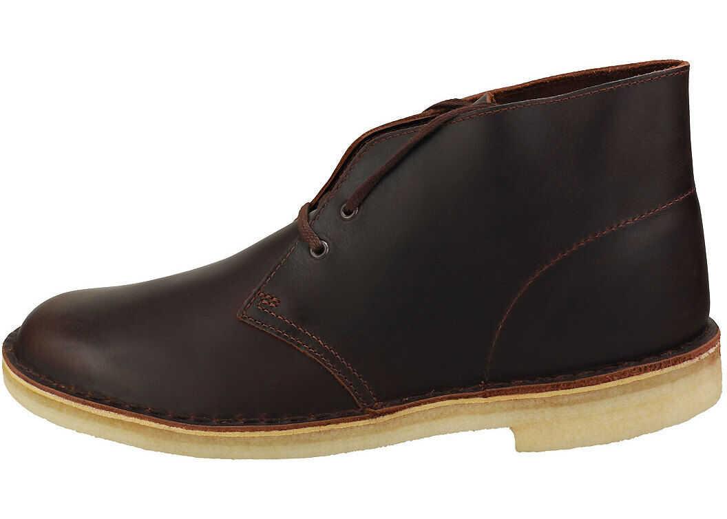 Clarks Desert Boot Desert Boots In Chestnut Brown