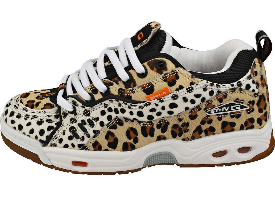 Globe Ct-Iv Classic Unisex Skate Trainers In Leopard Multi-Colour