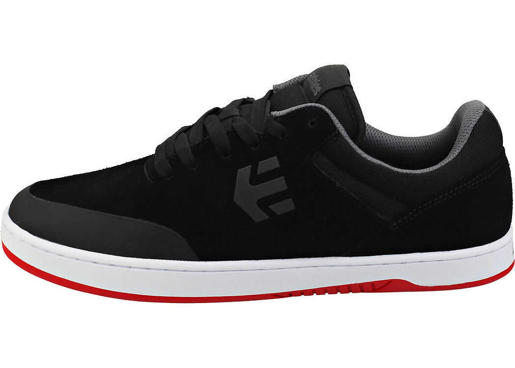 Marana Skate Trainers In Black White Red thumbnail