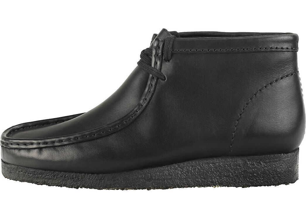 Clarks Wallabee Boot Wallabee Boots In Black Black