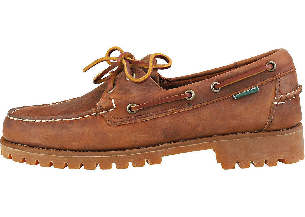 Portland Ranger Lug Boat Shoes In Brown Gum thumbnail
