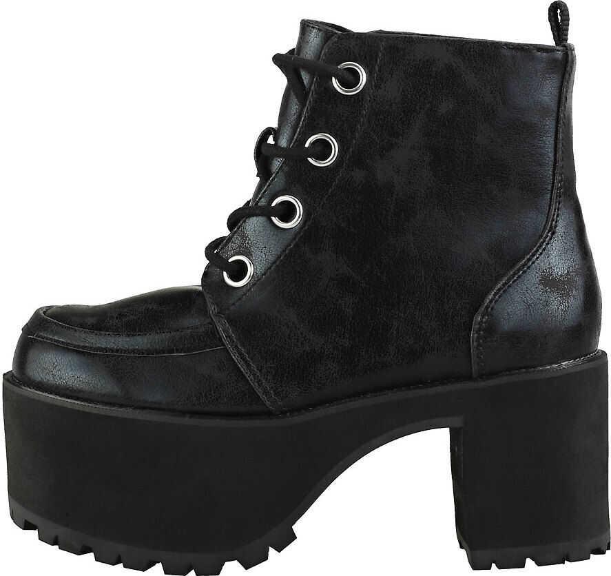 TUK T.u.k Nosebleeds Split Creeper Boots In Black Black