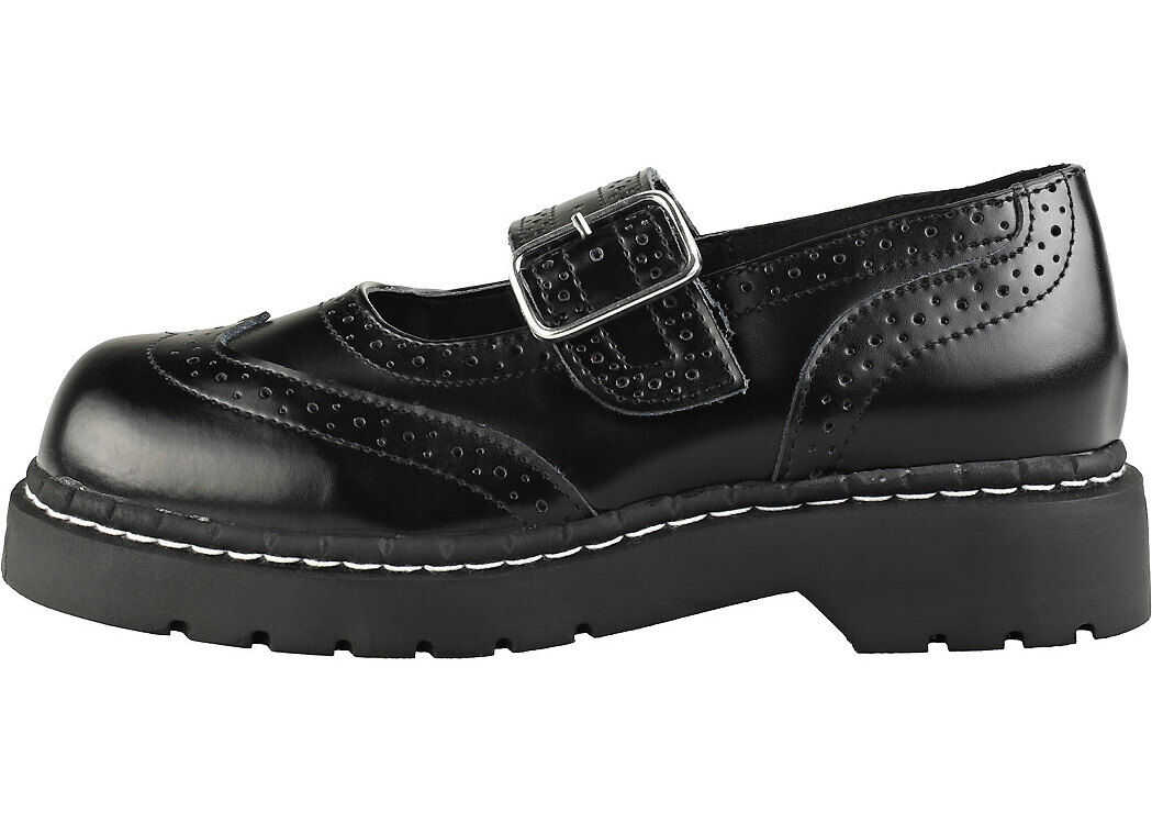 TUK T.u.k Anarchic Mj Creeper Shoes In Black Black