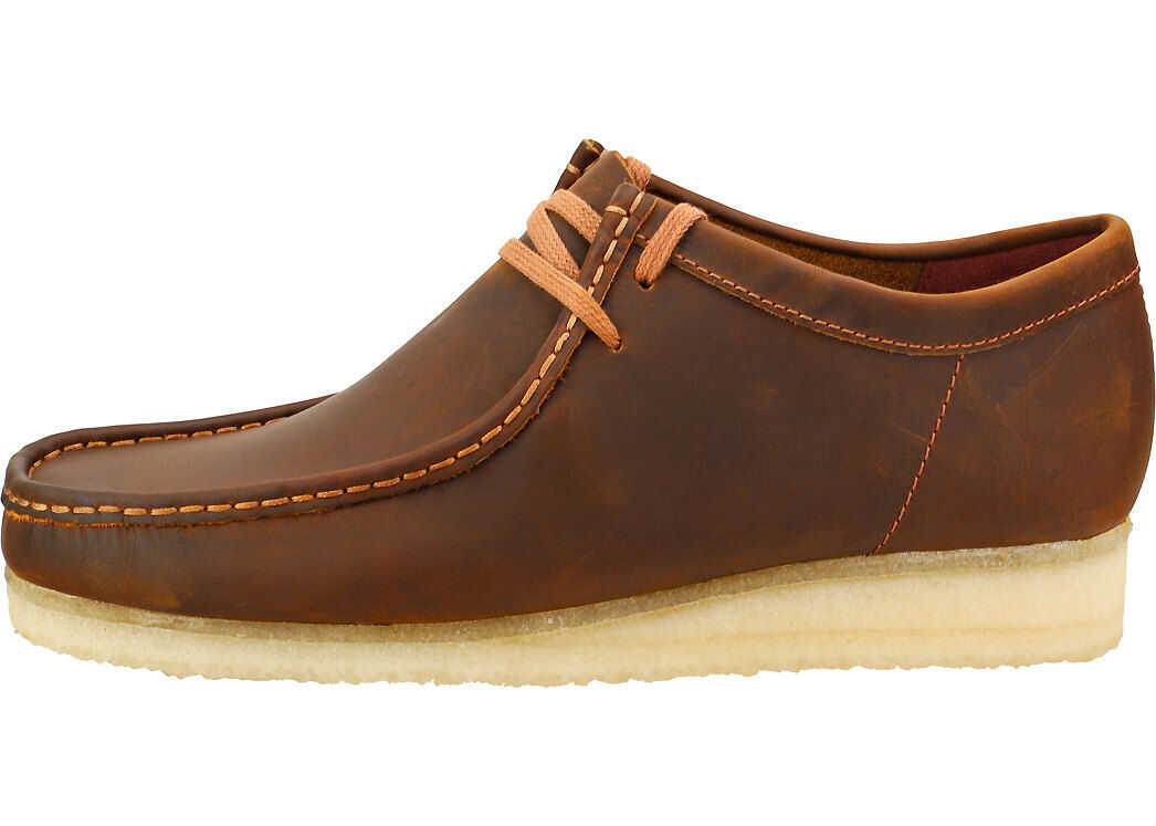 Clarks Wallabee Wallabee Shoes In Beeswax Brown