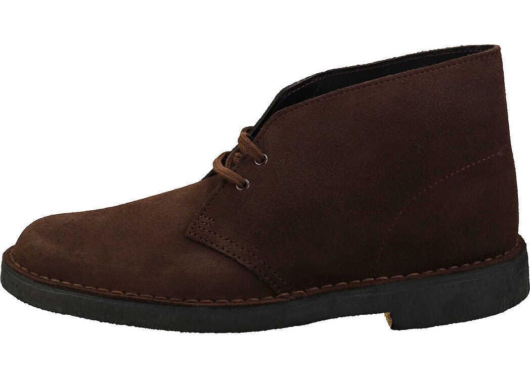 Clarks Desert Boot Desert Boots In Brown Suede Brown