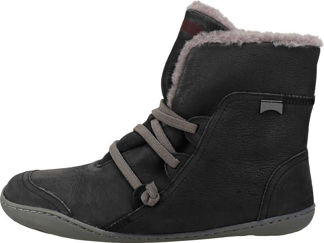 Camper Peu Cami Hi Casual Boots In Black Black