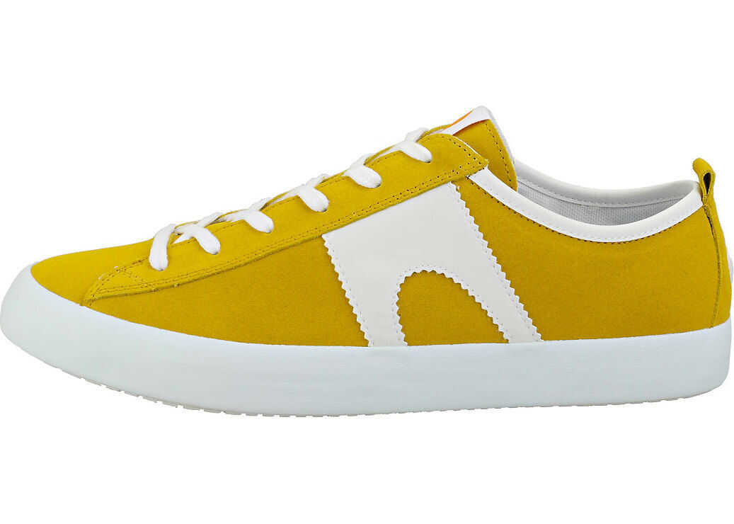 Camper Imar Copa Casual Trainers In Yellow White Yellow