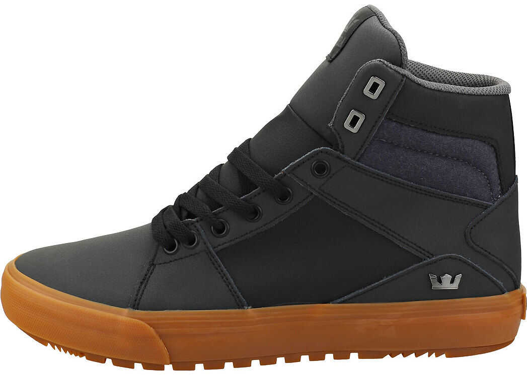 Supra Aluminum Casual Trainers In Black Black