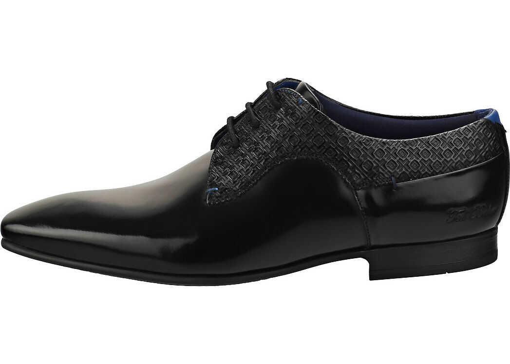 Tifler Smart Shoes In Black thumbnail
