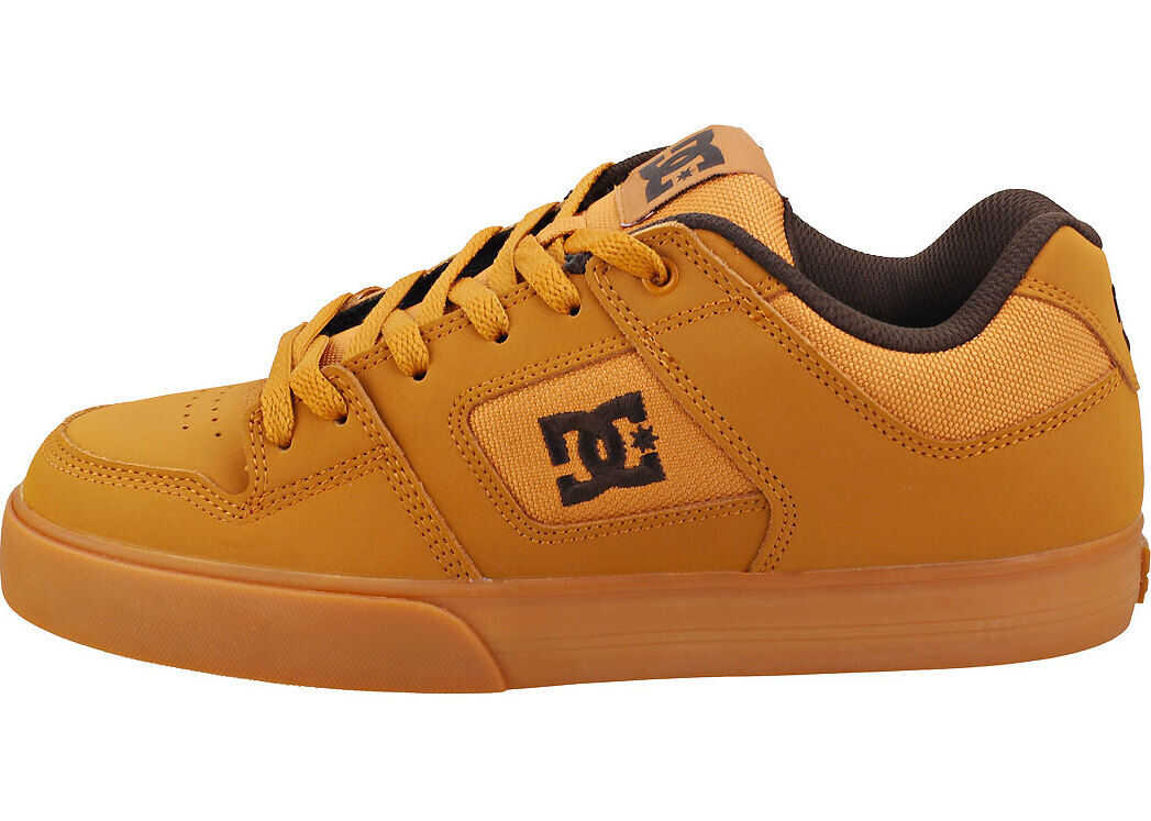 DC Pure Skate Trainers In Light Brown Brown