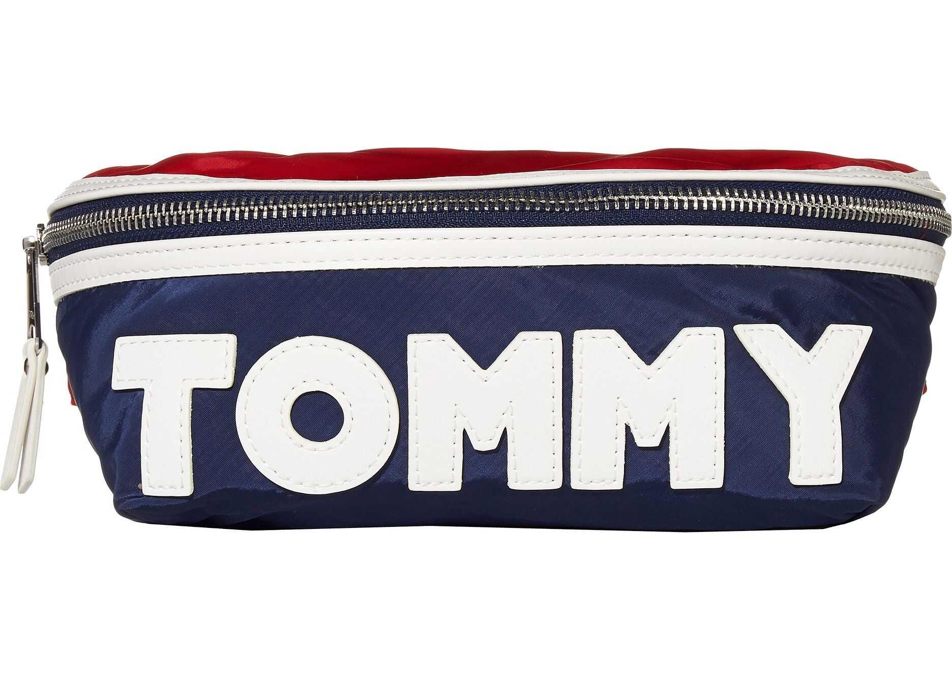 Tommy Hilfiger Tommy Nylon Body Bag Navy/Red/White