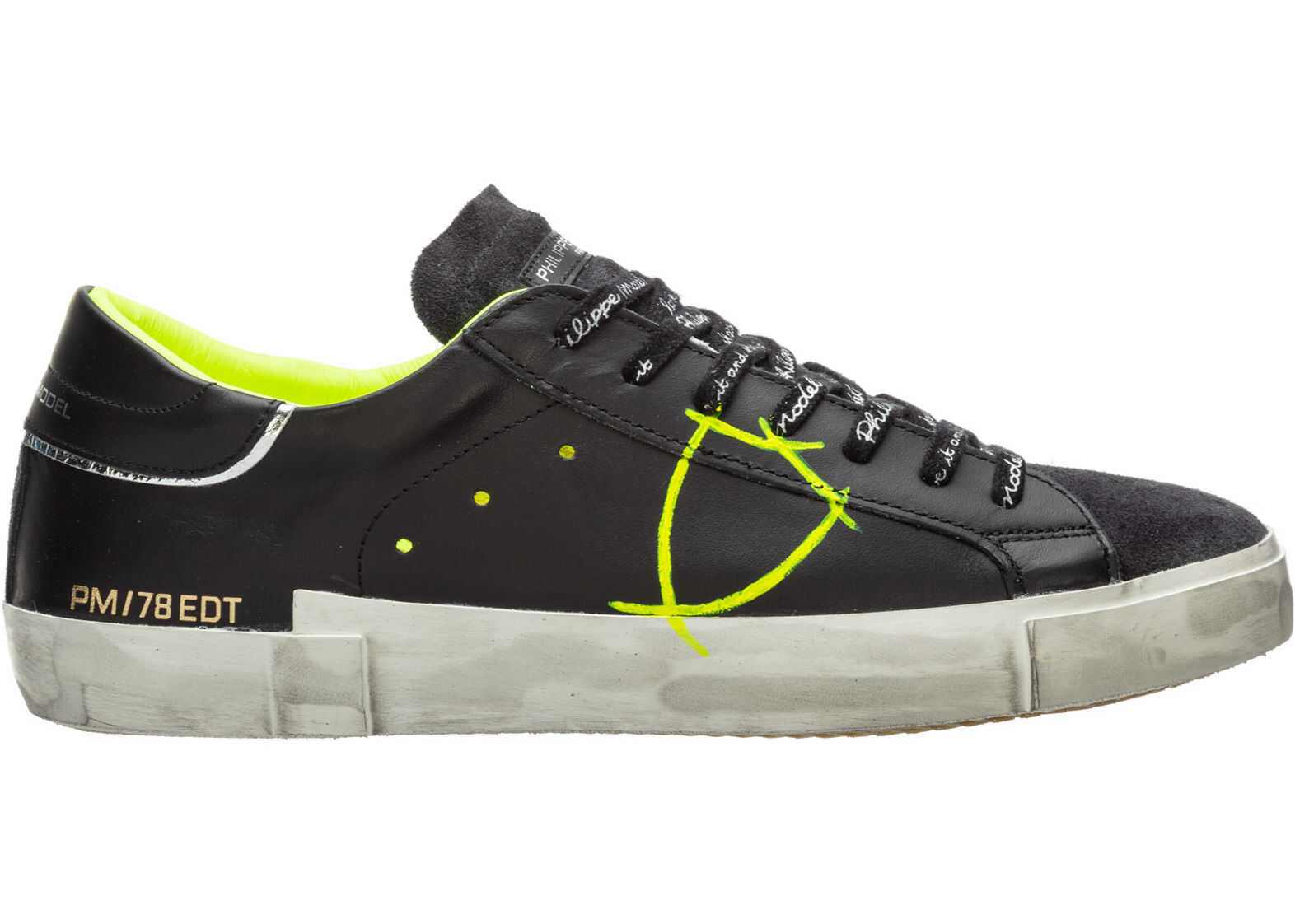 Philippe Model Sneakers Paris Black