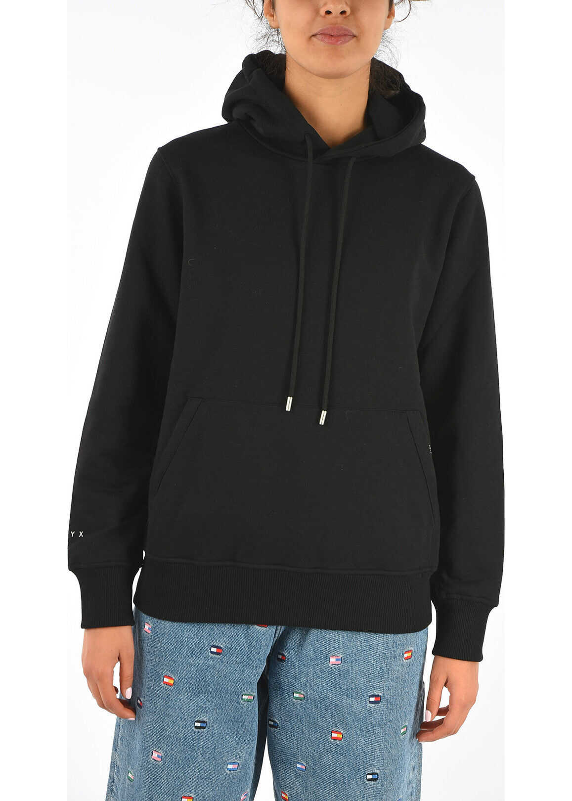 Alyx VISUAL Hooded Sweatshirt BLACK