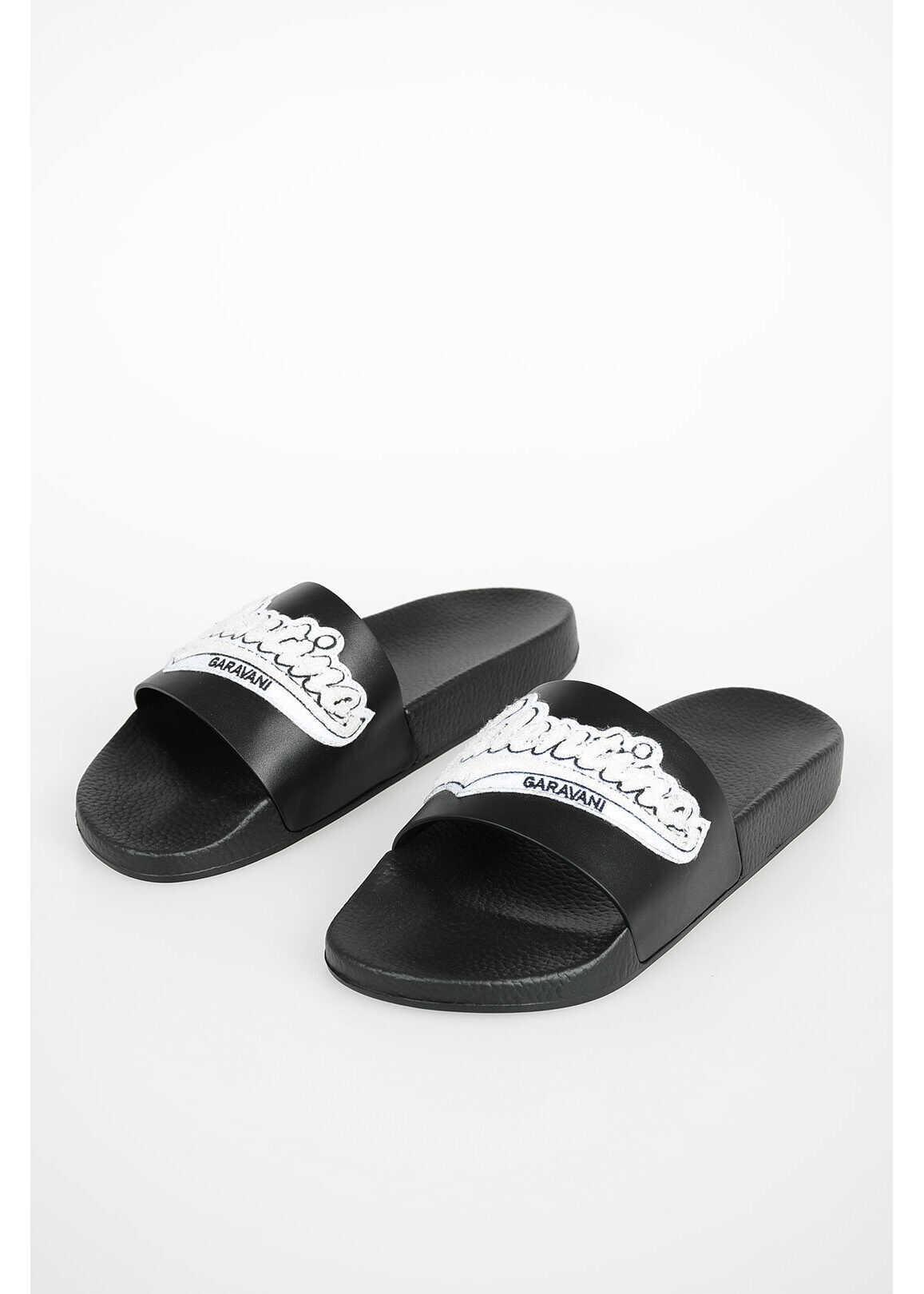 Valentino Garavani GARAVANI Rubber Slides BLACK