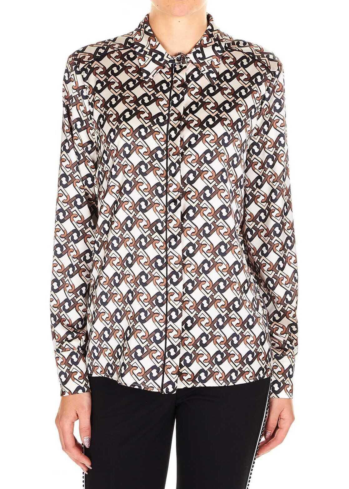 Liu Jo Polyester Shirt BEIGE