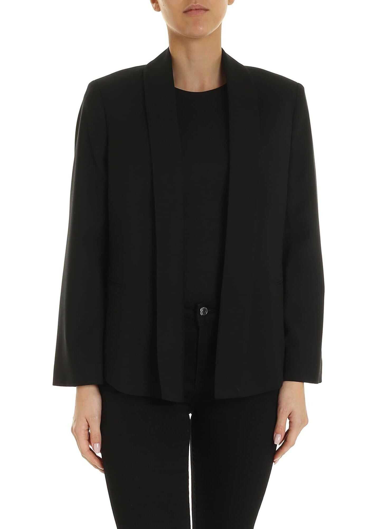Semi-Lined Jacket In Black thumbnail