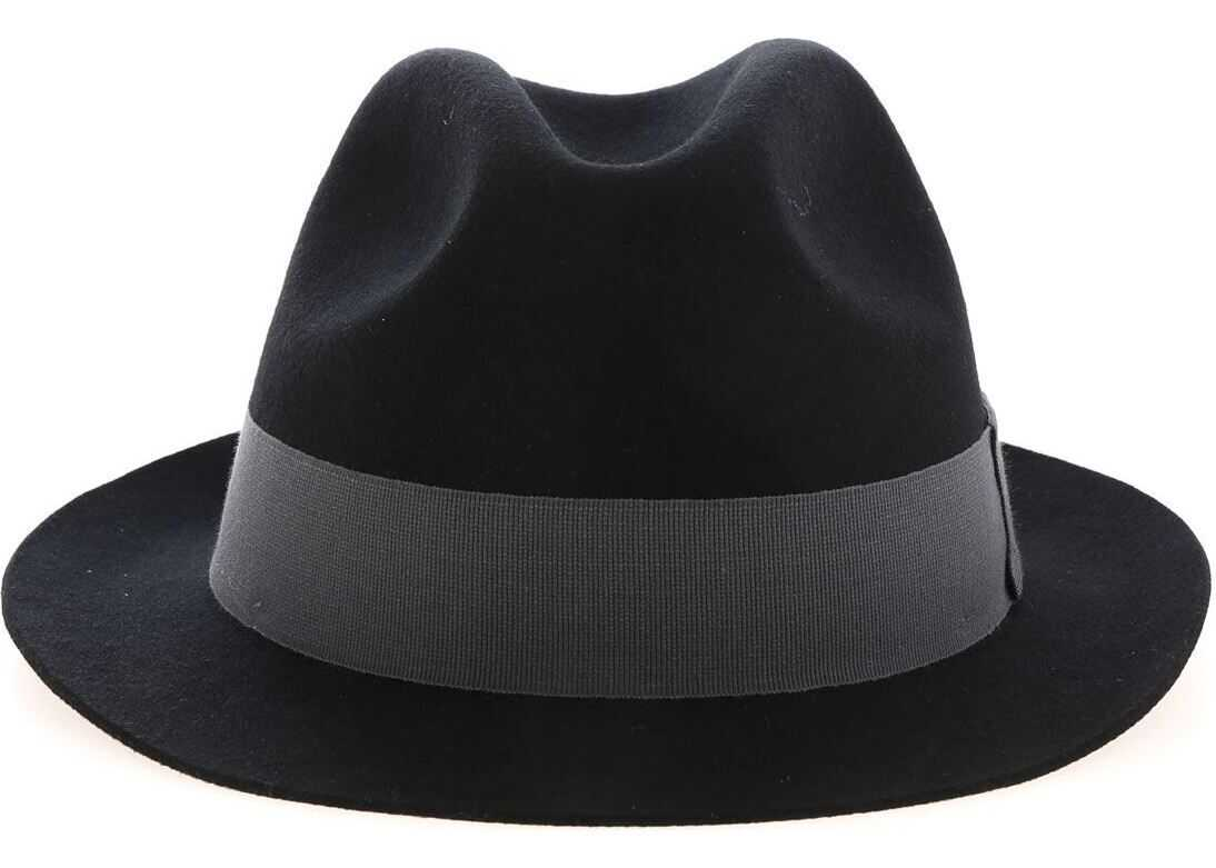 Trilby Hat In Black thumbnail