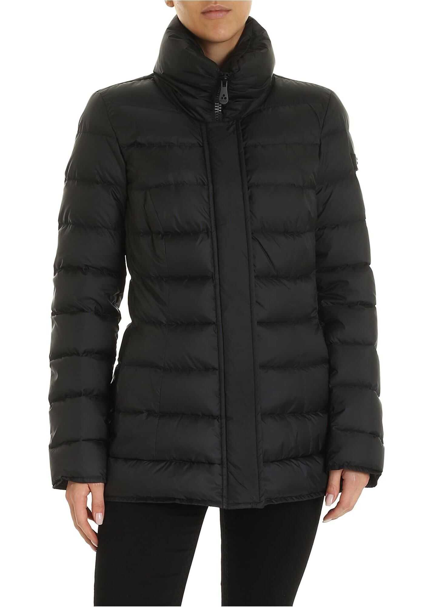 Peuterey Flagstaff Down Jacket In Black Black