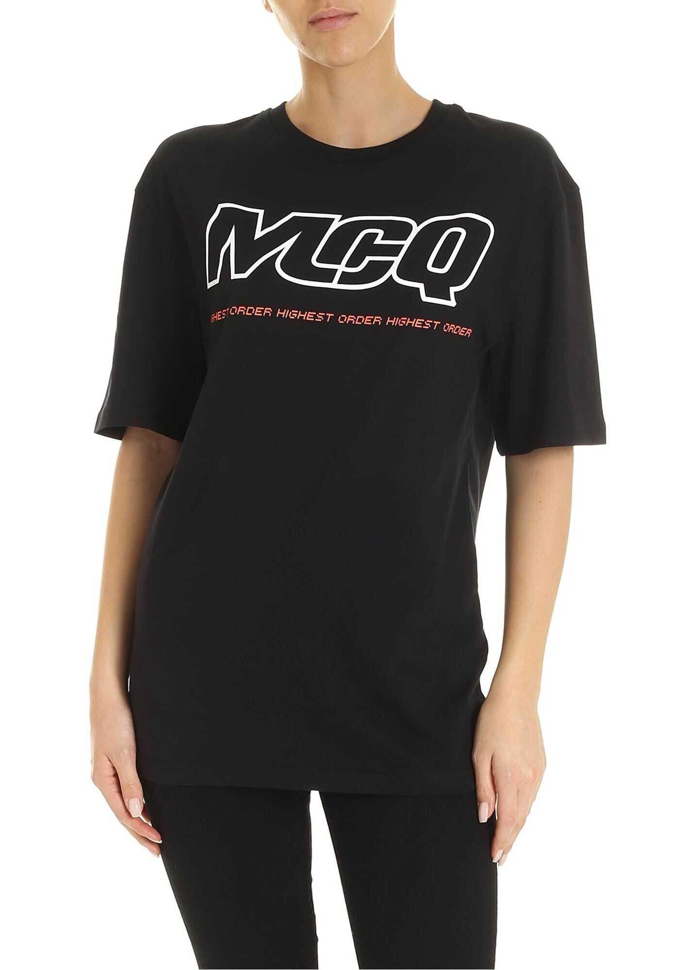 MCQ Alexander McQueen Mcq Highest Order T-Shirt In Black Black