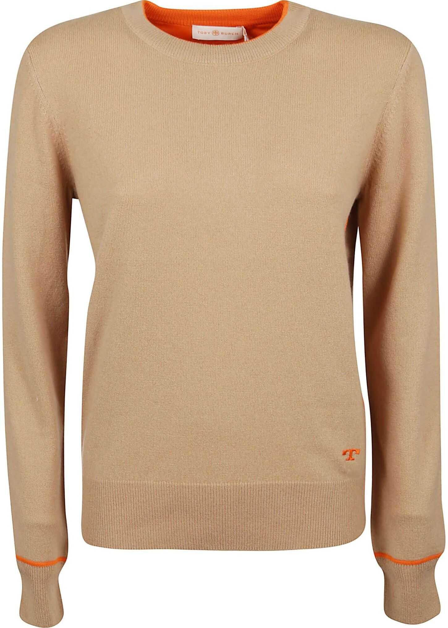 Tory Burch Cashmere Sweater BEIGE