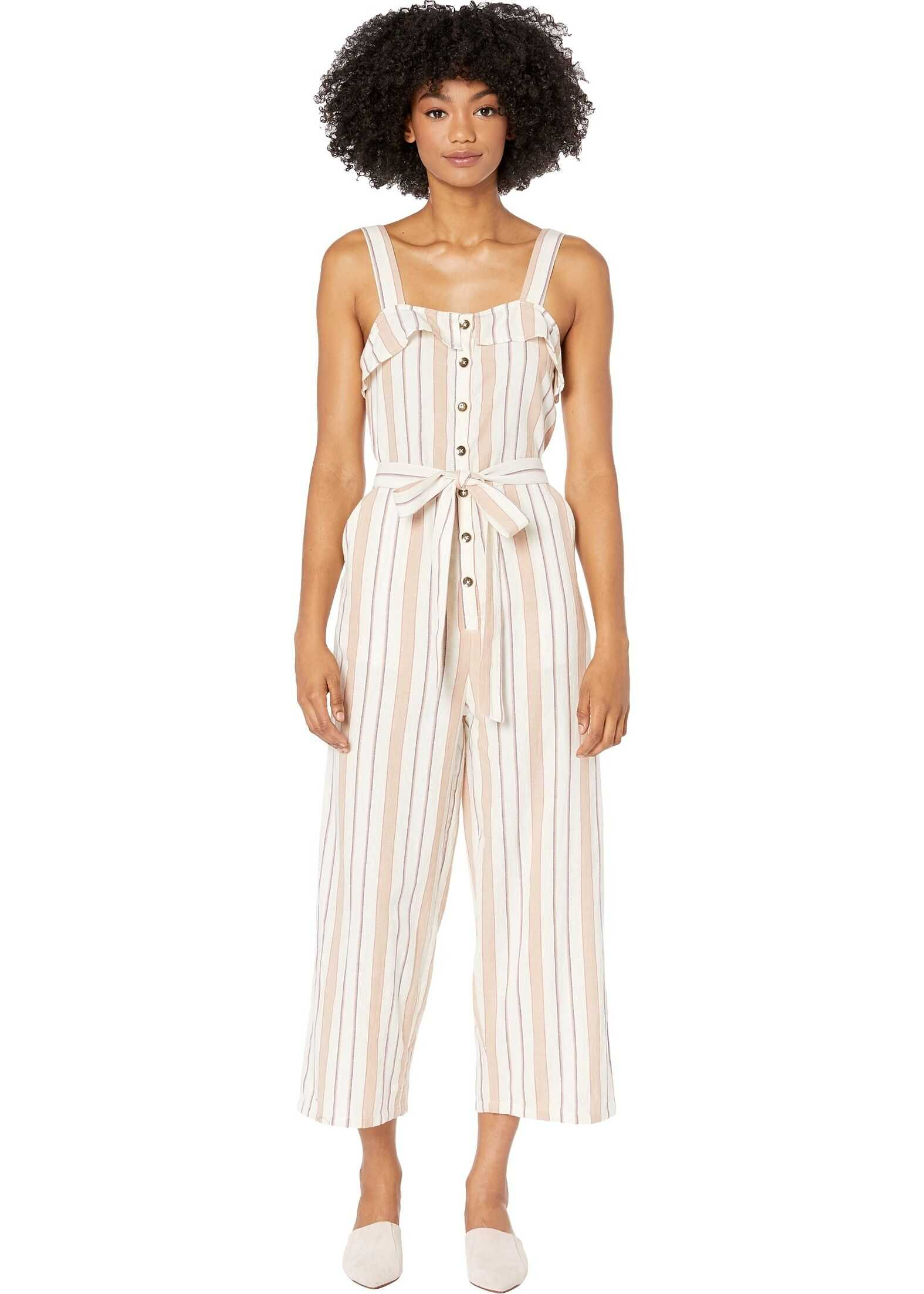 Billabong Sandy Toes Jumpsuit Antique White