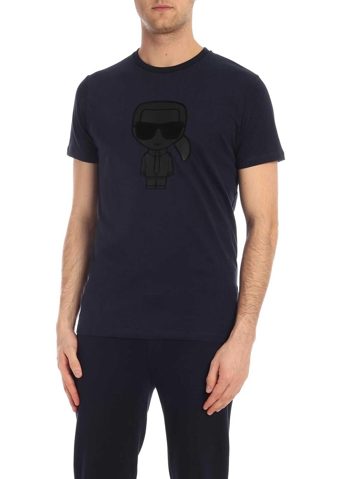 Karl Lagerfeld Capsule Karl T-Shirt In Blue Blue