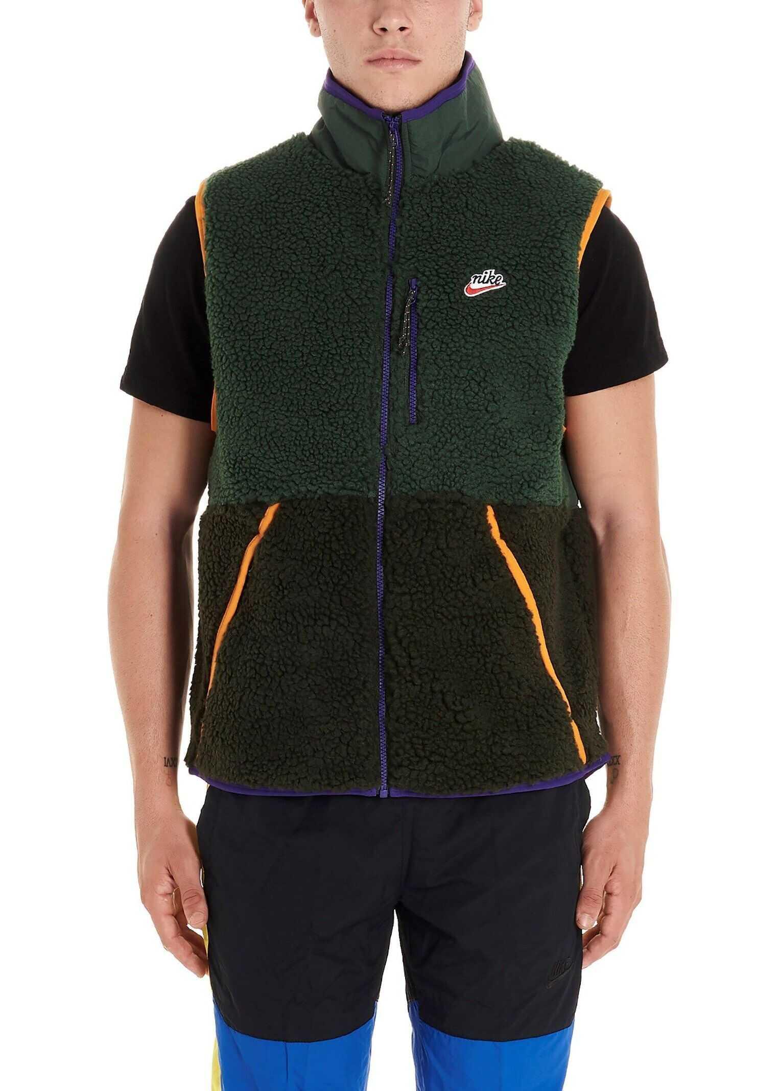 Nike Polyester Vest GREEN